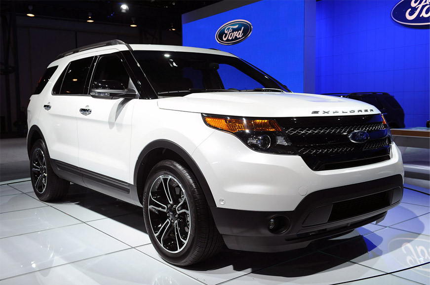 2013 Ford Explorer Sport Black